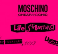 "Επίδειξη μόδας ""Moschino Cheap & Chic Fall/Winter 2013″ LIVE στο Livezone.gr"
