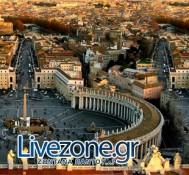 Η ενθρόνιση του νέου Πάπα ζωντανά από το Livezone.gr