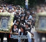 Ζωντανή μετάδοση από το όρος Βέρμιον της Αρχιερατικής Θείας Λειτουργίας Παναγίας Σουμελά στην Βέροια