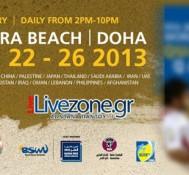 Το παγκόσμιο πρωτάθλημα beach soccer 2013 από την Ντόχα του Κατάρ, LIVE στο livezone.gr