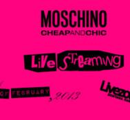 """Επίδειξη μόδας """"Moschino Cheap & Chic Fall/Winter 2013"""" LIVE στο Livezone.gr"""